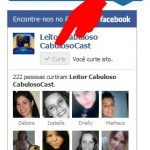 facebook do Leitor Cabuloso
