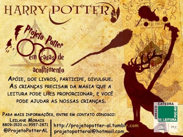 Projeto Potter em casas de acolhimento