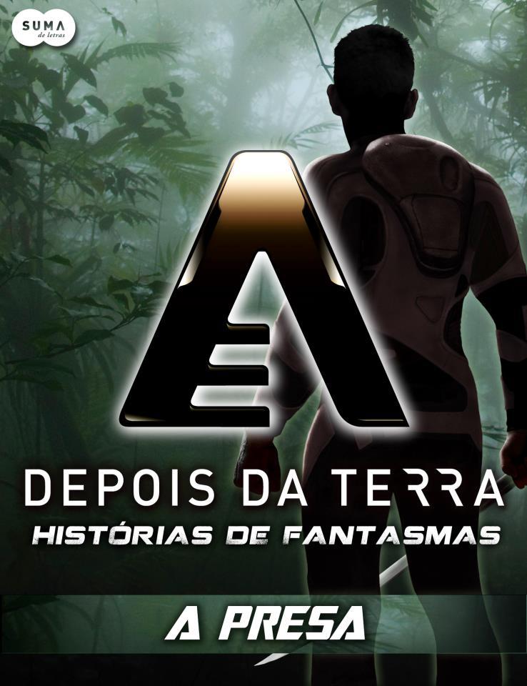 Capa de Depois da Terra - Histórias de Fantasmas