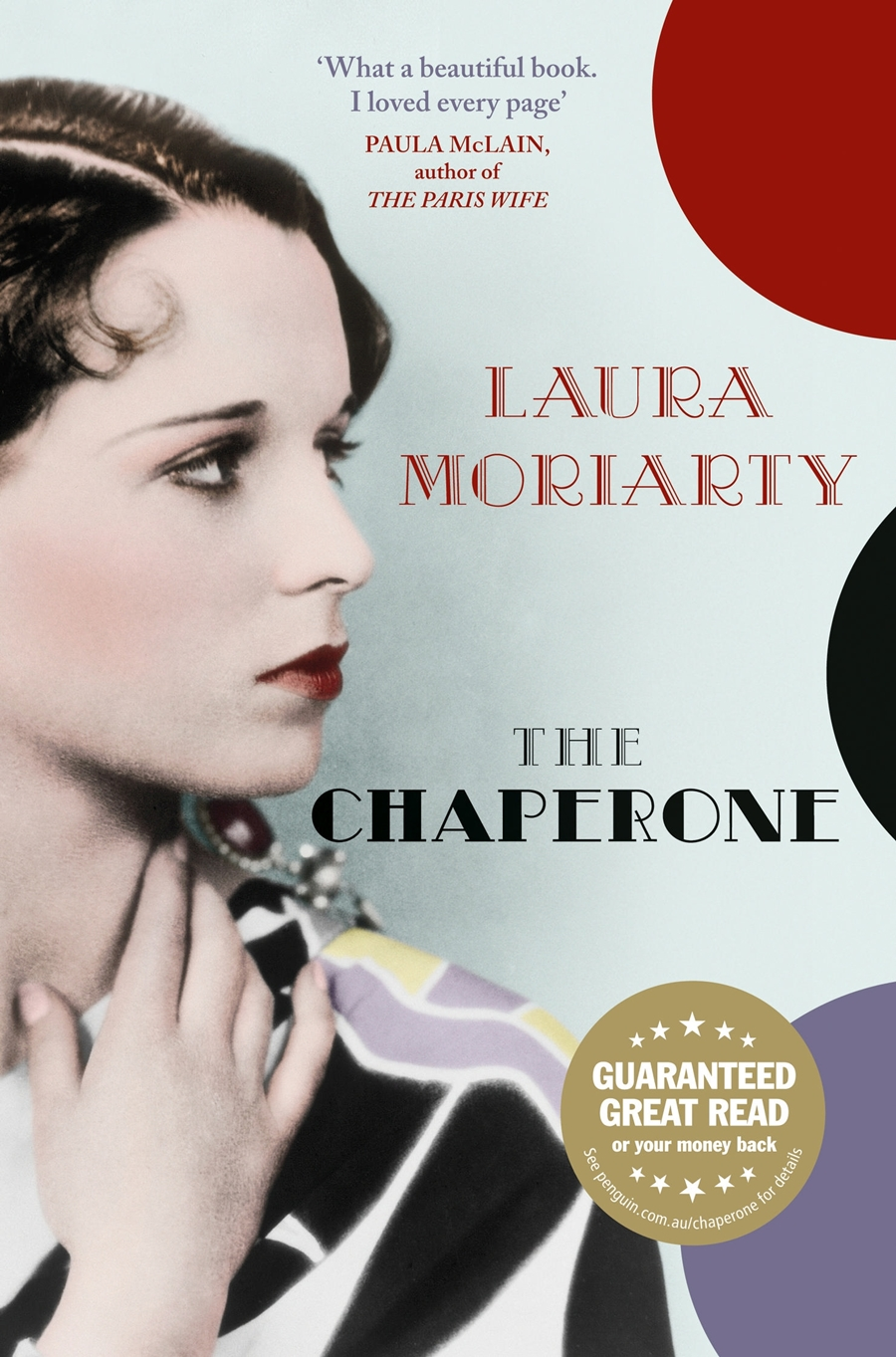 The Chaperone, capa