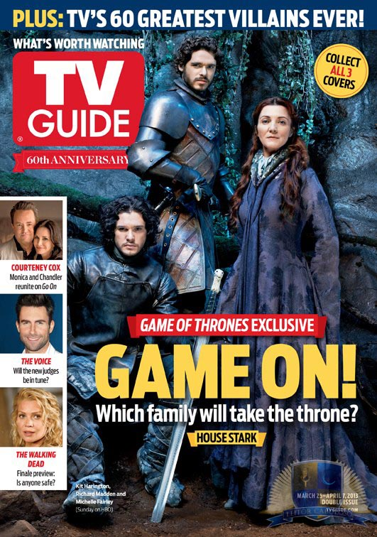 Jon Snow, Robb Stark, Catelyn Stark