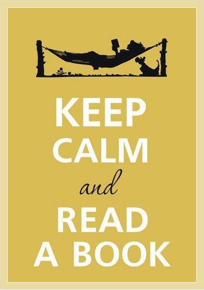 KEEP CALMA AND READ A BOOOK SOBRE LIVROS