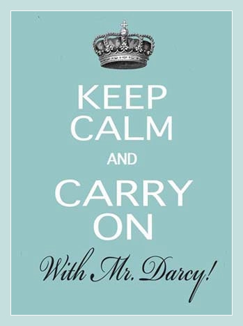 keep calm darcy