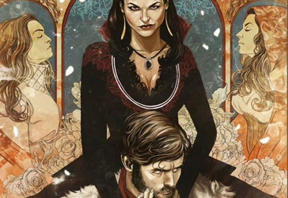 once upon a time graphic novel - destaque