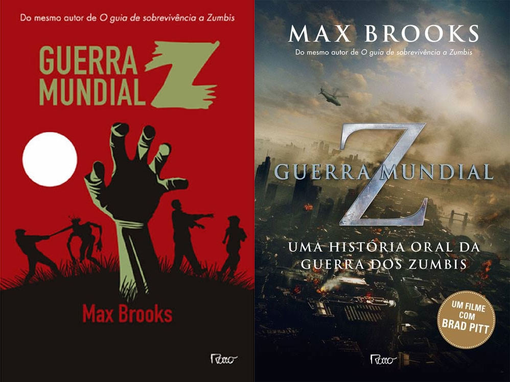 Capa antiga (edição 2010 )e nova capa (edição 2013)