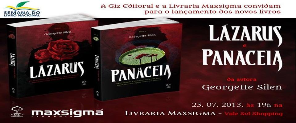Lançamento, Convite, Livros, Vampiros, Georgette Silen