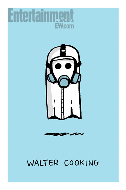 100 Ghosts, Breaking Bad edition by Doogie Horner