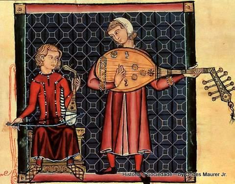 Menestreis da Cantiga de Santa Maria, anonimo espanhol