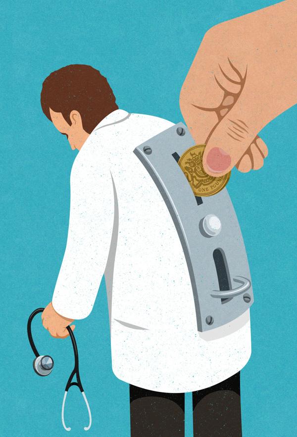 médicos-dinheiro