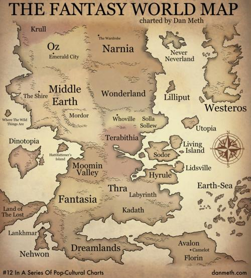 Mapa da fantasia