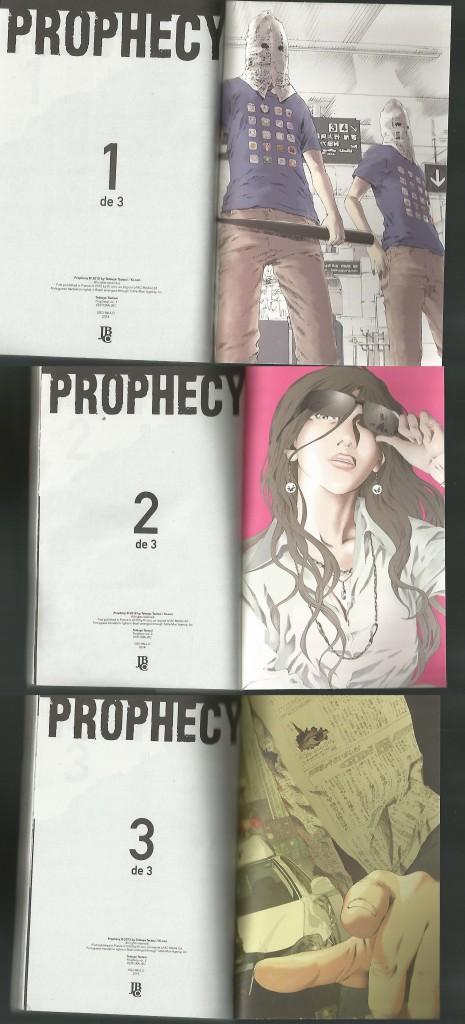 prophecy contra capas