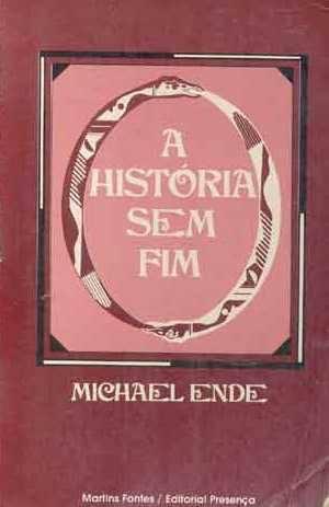 Capa do livro A História Sem Fim