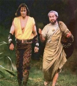 """O seriado """"Hercules: The Legendary Journeys"""" fez grande sucesso na década de 1990."""