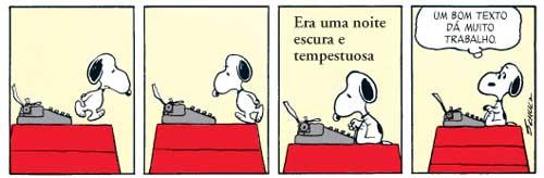 Snoopy-escritor