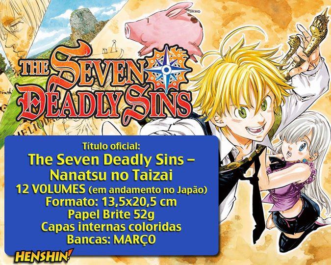 the seven deadly sins informações