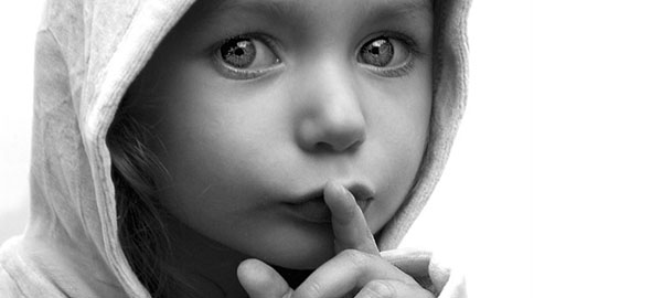 silêncio-criança