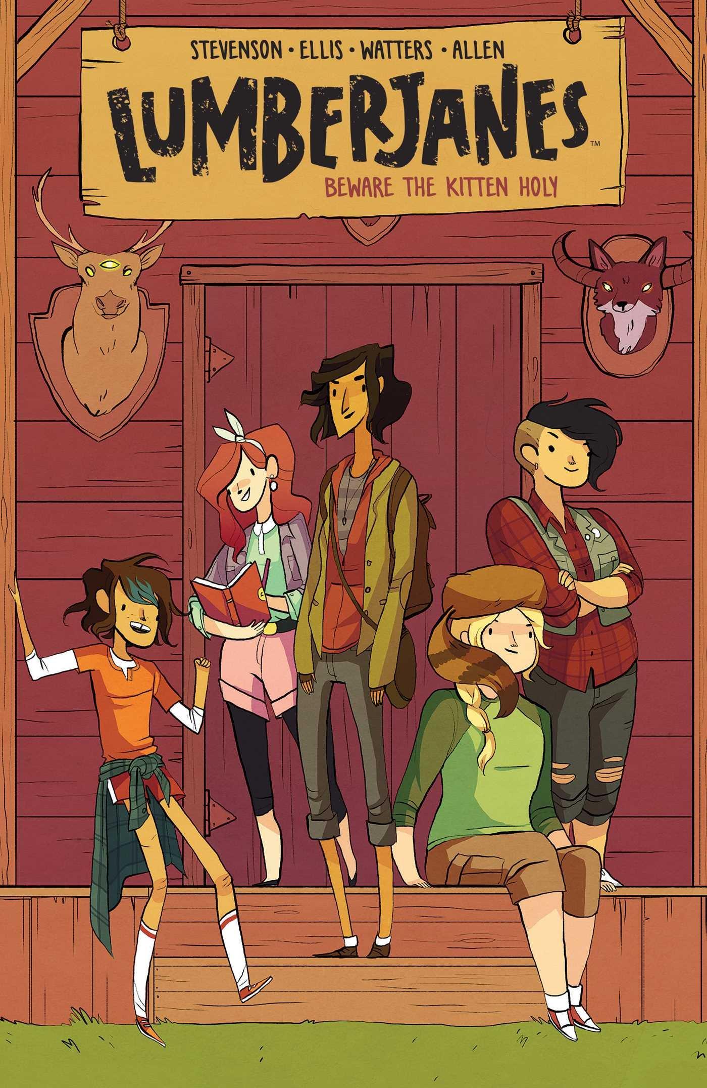 Lumberjanes, de Shannon Watters, Grace Ellis, Noelle Stevenson, & Brooke A. Allen