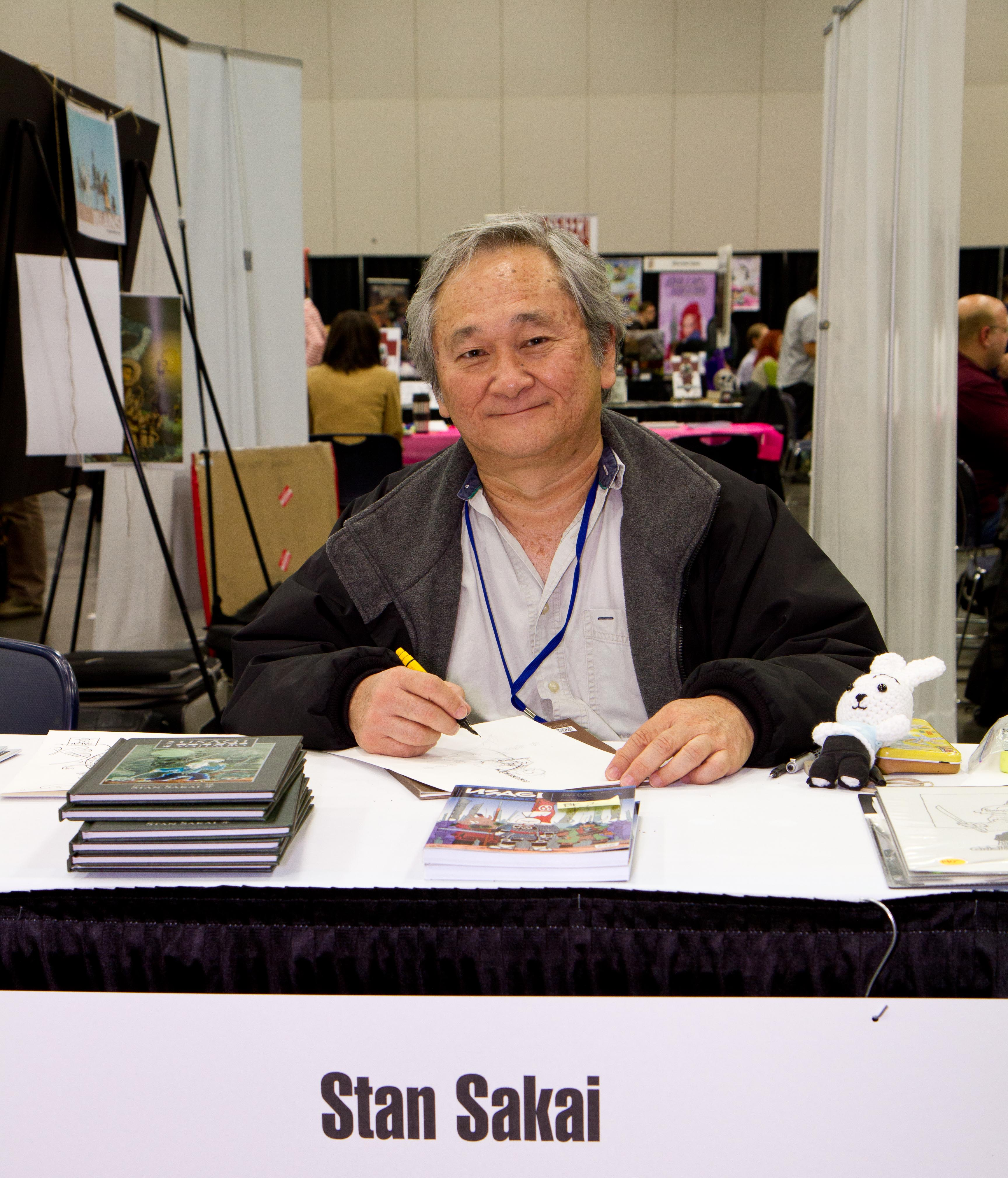 Stan Sakai of Usagi Yojimbo