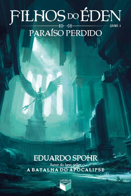 Capa de Paraíso Perdido do Eduardo Spohr.