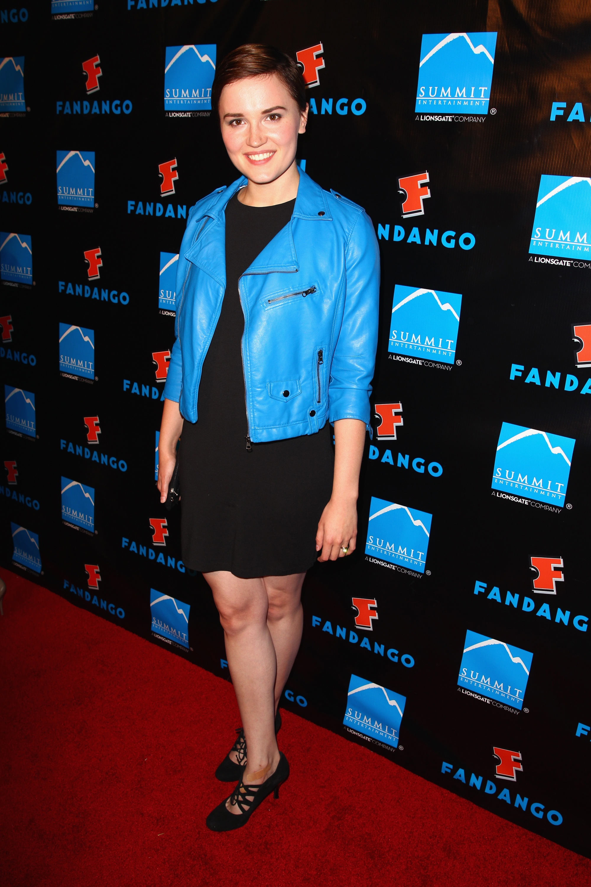 SAN DIEGO, CA - JULY 18:  Author Veronica Roth attends Summit Entertainment Comic-Con VIP Celebration red carpet sponsored by Fandango at Hard Rock Hotel San Diego on July 18, 2013 in San Diego, California.  (Photo by Joe Scarnici/Getty Images for Summit Entertainment) ** TCN OUT **
