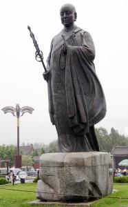 Estátua de Xuanzang em Xi'an