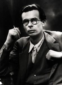 O autor Aldous Huxley