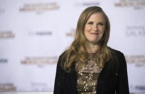 Suzanne Collins, a diva responsável pela trilogia Jogos Vorazes