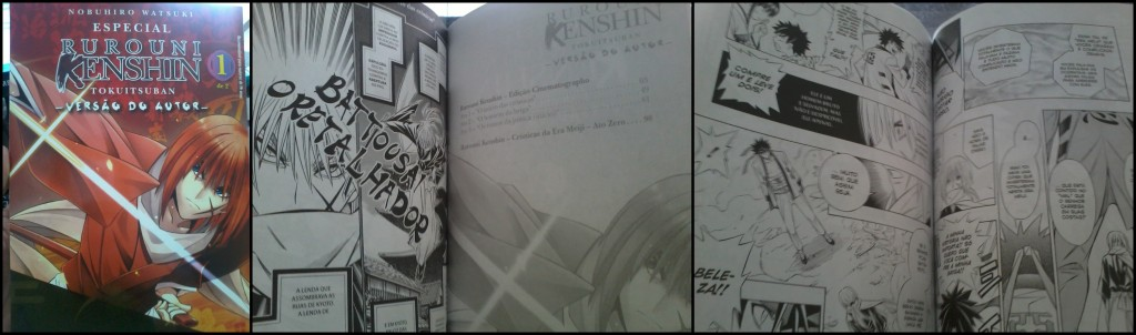Rurouni Kenshin Tokuitsuban edição