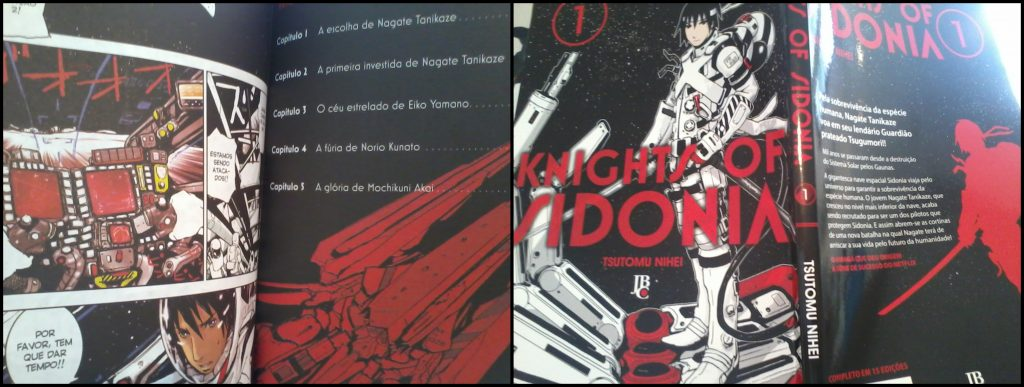 knights of sidonia manga jbc