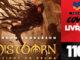 """Vitrine do podcast Covil de Livros. No primeiro plano,Corte de capa do livro onde se lê """"Mistborn - Nascidos da Bruma Livro 1 O Império Final"""". Na lateral direita, faixa vertical escrito """"Podcast Covil de Livros"""" e o número da edição: 110."""