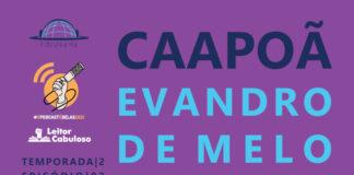 Imagem de capa. Evandro de Melo. Revista Avessa. Podcast